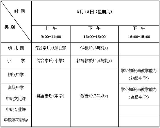 河北省2021年上半年中小学教师资格考试笔试公告